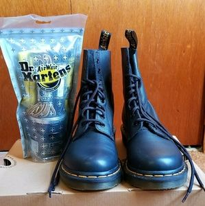 Black AirWair Dr. Martins Boots